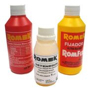 Kit Quimicos Romek P/ Revelado Negativo Byn 1 Lt (9420)