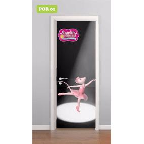 11cb913097 Adesivo Para Porta - Angelina Bailarina - Ballerina