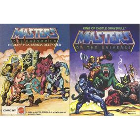 Mini Comics Heman Coleccion Completa Español Motu 80s .pdf