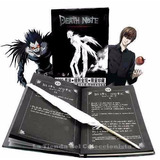 Libreta De Death Note En Caja Sellada + Pluma + Cd Del Anime
