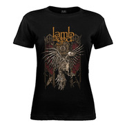 Remera De Mujer Lamb Of God  - Corpse Bird