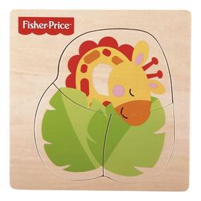 Fisher-price - Meu Primeiro Quebra-cabeça Girafa - Fun