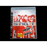 ¡¡¡ High School Musical 3 - Sing It Para Ps3 !!!