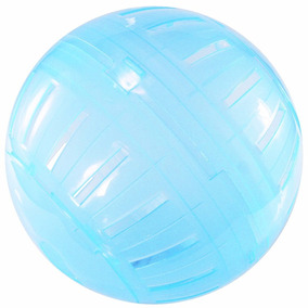 Bola De Exercícios Hamster Brinquedo 17 Cm Western Pet Azul