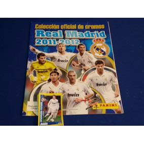 Album Real Madrid Oficial 2011-2012 Panini + 54 Estampas