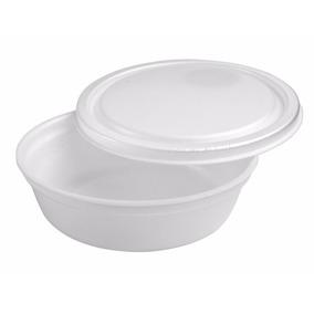 Marmitex Isopor Embalagem Marmita Contém 100 Unidades