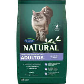Ração Guabi Natural Para Gatos Adultos 7,5 Kg