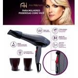 Secador De Cabelo Ana Hickman Exclusive Hair 1850w Novo