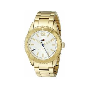 Reloj Tommy Hilfiger Dama Cuarzo Cristal Mineral 38mm Wr 30m