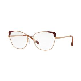 abdd0915966f7 Óculos De Grau Grazi Massafera Gz1013 F922 Ouro Vermelho Le