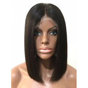 Peruca Chanel Front Lace Wig Cabelo Natural Humano