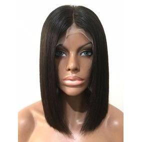 Peruca Chanel Wig Front Lace 100% Hair Natural Humana