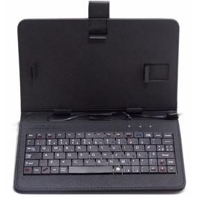 Capa Case Com Teclado Micro Usb V8 Tablet 7 Oferta Só Hoje
