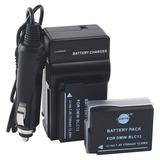 Cargador Y Dos Baterías Para Panasonic Lumix Dmc-g5 G6 G7