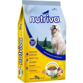 Alimento P/perro Nutriva 20 Kg.