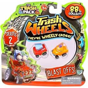 Trash Wheels Blister 2 Veículos Sortidos Trash Pack Série 2