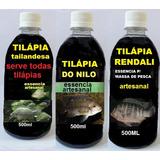 Essencias Tilápia (tem Feromônio) Atrativo P/massa Leia