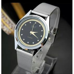 Relógio Casual De Luxo Em Aço Inoxidavel Com Caixa