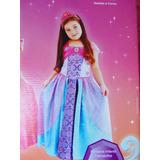 Fantasia Barbie Castelo De Diamantes - Tamanho M (6-8)