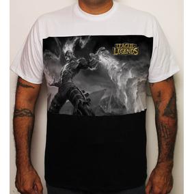 Camiseta Game League Of Legends Brand Pb Lol 100% Algodão