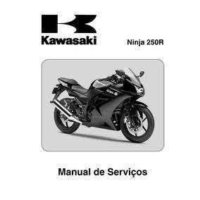 Ninja 250r Manual De Serviços Kawasaki Em Português