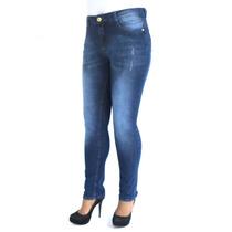 Calça Cintura Alta Skinny Biotipo 19427 Kalbatt Jeans