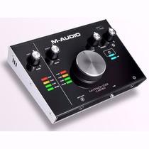 M Audio M Track 2x2 Li 2 Interface Audio Usb Pro Fast