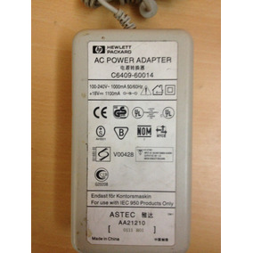 Cargador Hp Power Adapter C6409-60014 18v 1,1a Original