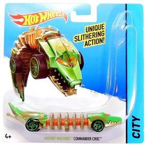 Hot Wheels Surtido Mutant Machines Commander Croc Verde
