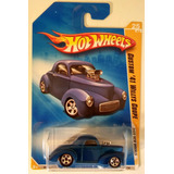 Hot Wheels Custom 41 Willys Coupe Muy Difisil Año 2008