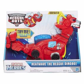 Transformers Rescue Bots Heatwave Dinobot Playskool
