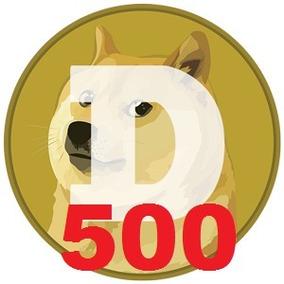 500 Dogecoin R$ 2,90