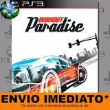 Burnout Paradise - Ps3 - Código Psn - Envio Agora !!
