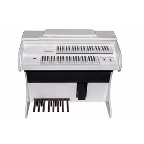 Órgão Eletrônico Novo Ronhes Onix Branco Brilho!