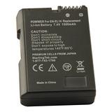 Bateria Camara Nikon D3100 D5100 Decodificada En-el14 Enel14