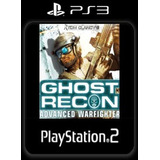 Ghost Recon Advanced Warfighter Juego Digital Ps3