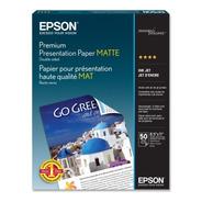 Papel Epson Premium Presentacion Mate Double-sided Carta 50h