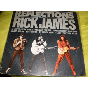 Rick James Reflections Lp Vinilo Edicion Argentina