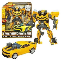 Transformers Battle Ops Bumblebee - Nivel 4 - Hasbro - Novo
