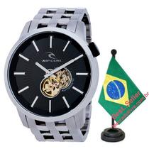 Relógio Rip Curl Detroit Automatic Black Preto