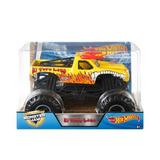 Monster Jam Hot Wheels 1:24 El Toro Loco Amarillo 18 Cm