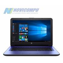 Laptop Hp 14 Pulgadas+ 1tb Cloud+ W10+ Color Azul