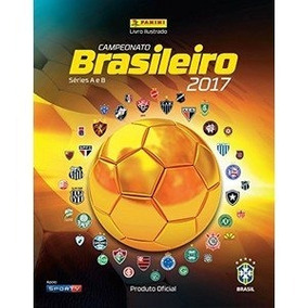 Álbum Campeonato Brasileiro 2017 - Completo - Capa Dura