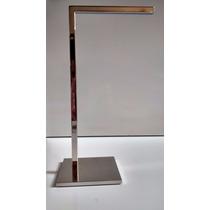 Porta Toalha De Bancada Simples Em Aço Inox