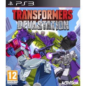 Transformers Devastation - Ps3 - Código Psn - Promoção !!