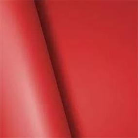 Adesivo Envelopamento Carro Tuning Vermelho Fosco 1,22mx10m