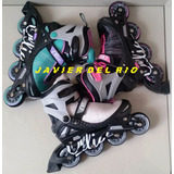 Patines En Linea Fitness Ollie, Regulable, Delivery Gratis*