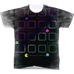 Camisa Camiseta Personalizada Pac Mem Desenho 02