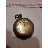Tapa Bañada En Oro De Antiguo Reloj De Bolsillo