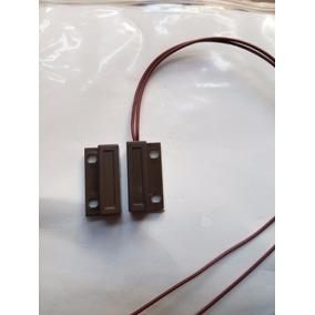 Sensor Magnetico Alarma Precableado Para Puertas Y Ventanas